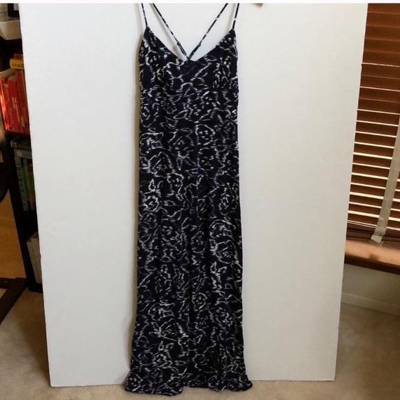 a5f0c0acfe LOFT Dresses   Skirts - LOFT blue and white maxi dress